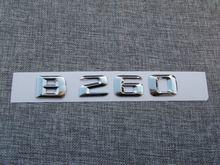 Хром 3d abs пластиковые автомобильные задние буквы значок эмблема