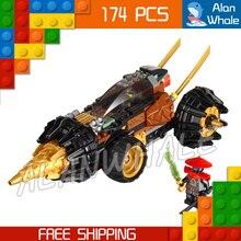 174Pcs Bela 9791 Cole Earth Driller Ninja Series Sets Building Blocks Educational Toys for children Compatible