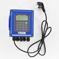 Ultrasonic liquid flow meter RS485 Modbus New TUF 2000B wall mounted digital flowmeter DN50 700mm for industrial control