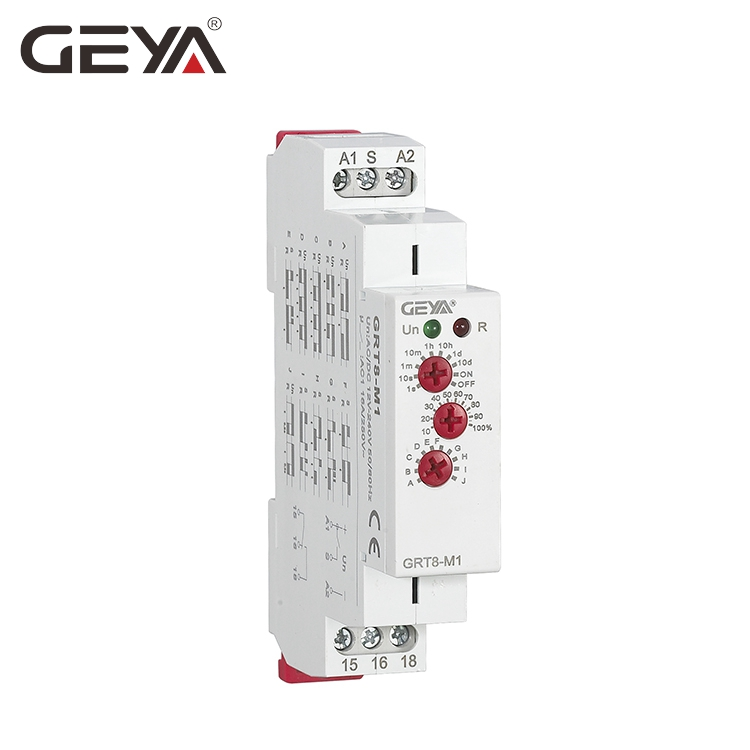 GEYA GRT8-M 16A Multifunction Timer Relay with 10 Function Choices AC DC 12V 24V 220V 230V Time Relay цена