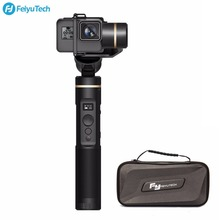 FeiyuTech Feiyu G6 ручной Gimbal стабилизатор для экшн Камера Wifi + BlueTooth Экран угол возвышения для Gopro Hero 6 5 RX0