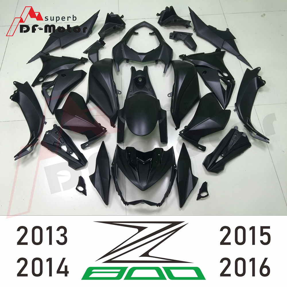 Bodywork Z 800 2013 - 2016 Black Fairing For Kawasaki Z800 2015 Fairing Z 800 2016 Motorcycle Full Fairing Kit Bodywork Cowling