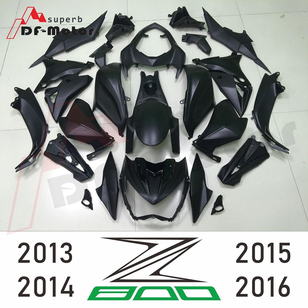 Bodywork Z 800 2013 - 2016 Black Fairing For Kawasaki Z800 2015 Fairing Z 800 2016 Motorcycle Full Fairing Kit Bodywork Cowling