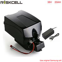 ebike battery 36v 1000W electric bike battery 36V 20Ah for bafang/8fun1000w motor with Frog Case 30A BMS Chargrer