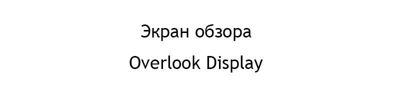 overlook display