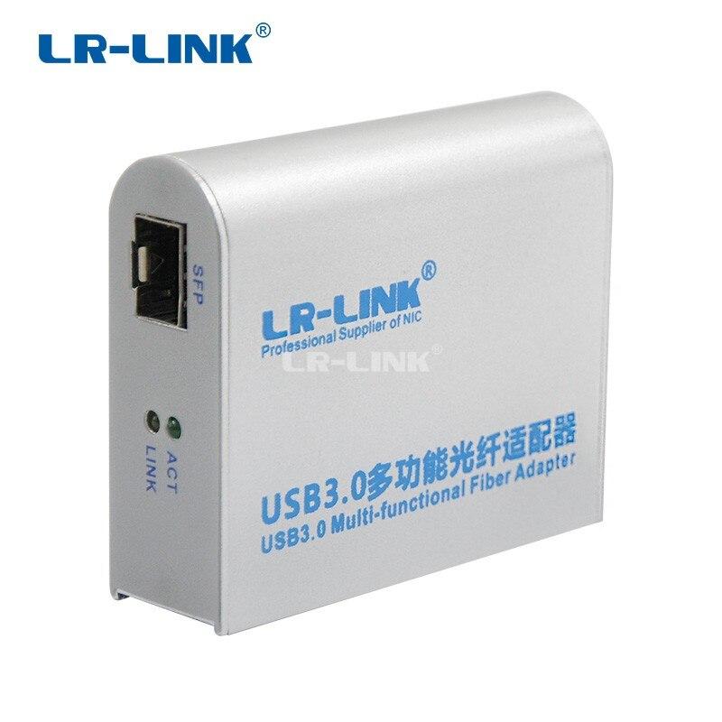 Image 2 - LR LINK 3210PF SFP USB 3,0 гигабитный Ethernet адаптер 1000 МБ волоконно оптическая сетевая карта Lan адаптер Realtek RTL8153 nic-in Сетевые карты from Компьютер и офис