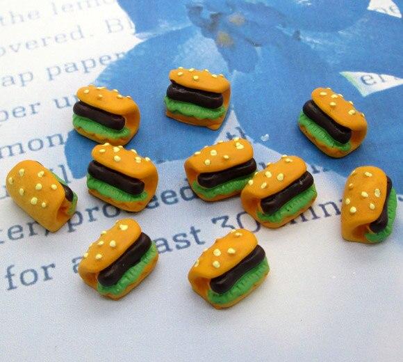 30Pcs 3D Chocolate Cream Buttons Flatback Embellishments DIY Hanging Decors