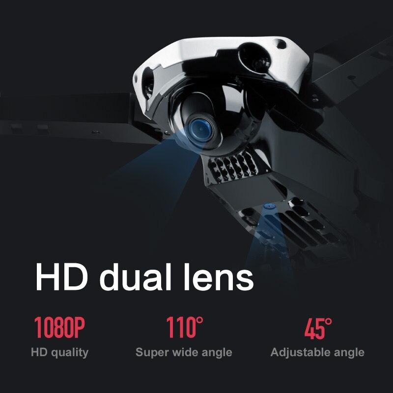 XYCQ S7 Quadcopter Drohne mit Kamera Live-Video, wiFi FPV Quadcopter mit 110 ° Weitwinkel 1080P HD Kamera Faltbare Drone RTF