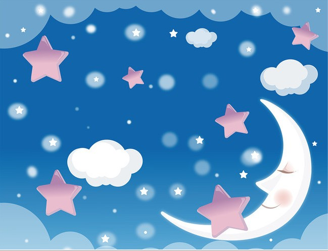 Buy custom photo wallpaper blue sky for Blue patterned wallpaper bedroom