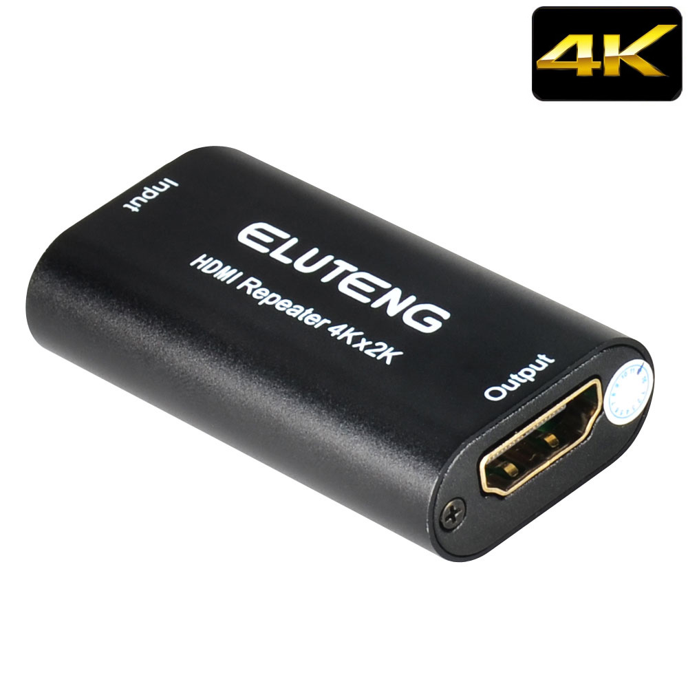 ELUTENG HDMI Extender 4K 30Hz 15m / 1080P 40m 3D HDCP HDMI Repeater Signal Amplifier Booster HDMI Female to Female Extend ce link 2020 hdmi repeater signal amplifier extender line driver 40 meters
