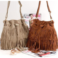 Women Bag Handbags Tote Over Shoulder Crossbody Sling Summer Tassel Purse Suede Fringe Big Cool Female Bolsa Designer Motorcycle