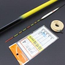 Promo offer New Carbon Fiber Carp Fishing Pole Stream Hand Rod Telescopic Fishing Rod Fishing Tackle 3.6M-7.2M Hooks line Floated Set