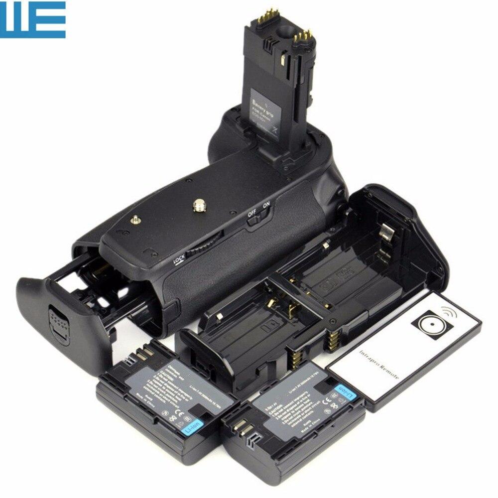 bilder für BG-E13 Battery Grip + Ir-fernbedienung + 6 AA Batterie Solt + LP-E6 batterie Halten + 2x LP-E6 Batterien für Canon EOS 6D Digitale Slr-kamera.