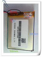 Wholesale 10 Pcs 505068 Accumulator 3 7V 2000mAh Rechargeable Lithium Polymer Li Ion Battery For Mobile
