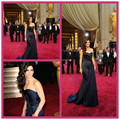 2015 Spring The 86th Red Carpet Ryanrancic Celebrity Dresses with Sweetheart Sexy Backless Floor Length vestido de festa Longo