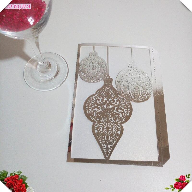 Decorative Wedding Invitation Badge 7: 30Pcs Delicate Carved Pattern Wedding Invitations Wedding