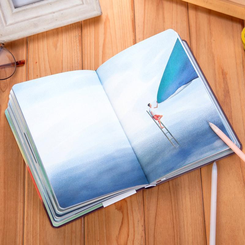 Fromthenon värvi värvitud armas vaal sülearvuti päevik - Kaustikud ja kontoriraamatud - Foto 5