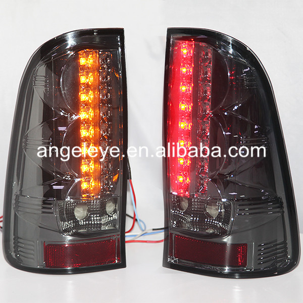 For TOYOTA HILUX VIGO LED Tail Light 2004 to 2013 year Smoke Black Color SN