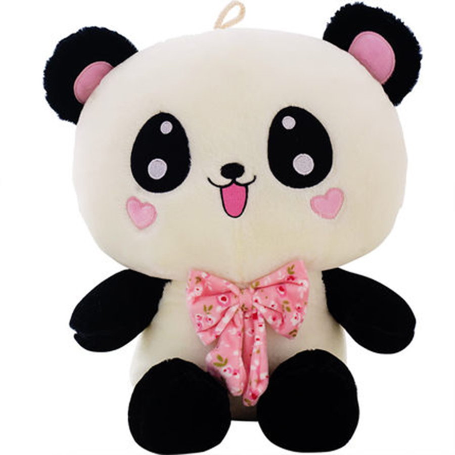 Cute Panda Bear Stuffed Toy Panda Bears Brinquedos Kawaii Stuff