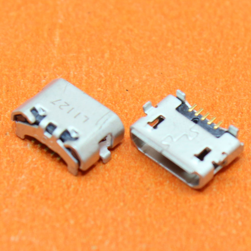 10PCS/Lot Micro USB Charging Port Dock Connector Socket For Huawei P8 4X Y6 4A C8817 Max Lite 4C 3X Pro G750-T20 Mate8