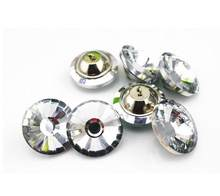 500pcs 30m Sun flower crystal button ,sofa, soft bag glass buckles Crystal Buttons Headboard Buttons Sofa Bed Wall(China)
