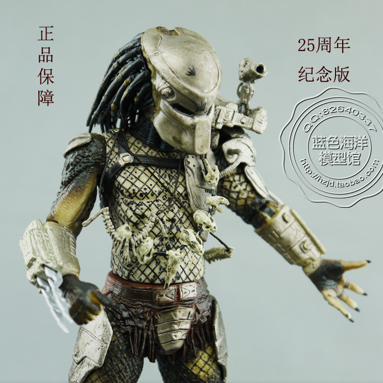 """Gratis verzending Aliens roofdier VS 25 jubileumeditie NECA Predator Movie Series 2 ClassiPredator 8 """"Action Figure RARE"""