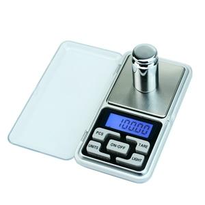 Image 3 - Präzision waagen 500g/300g/200g mini pocket digital gewicht balance für Schmuck Gold Diamant Kraut gram Elektronische waagen