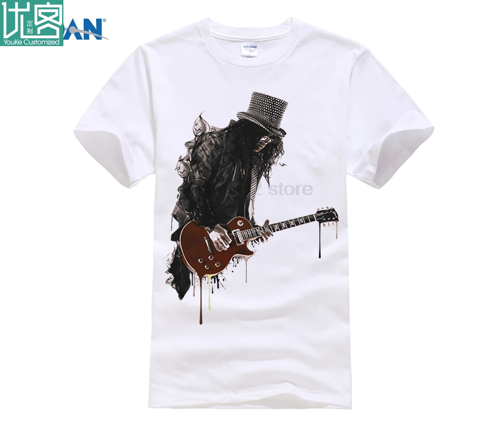 T Shirts Mens Crew Neck Short Sleeve Electric Guitar resembles Oklahoma Flag Tee Loose-Fi Cotton Shirts Fitness Tops