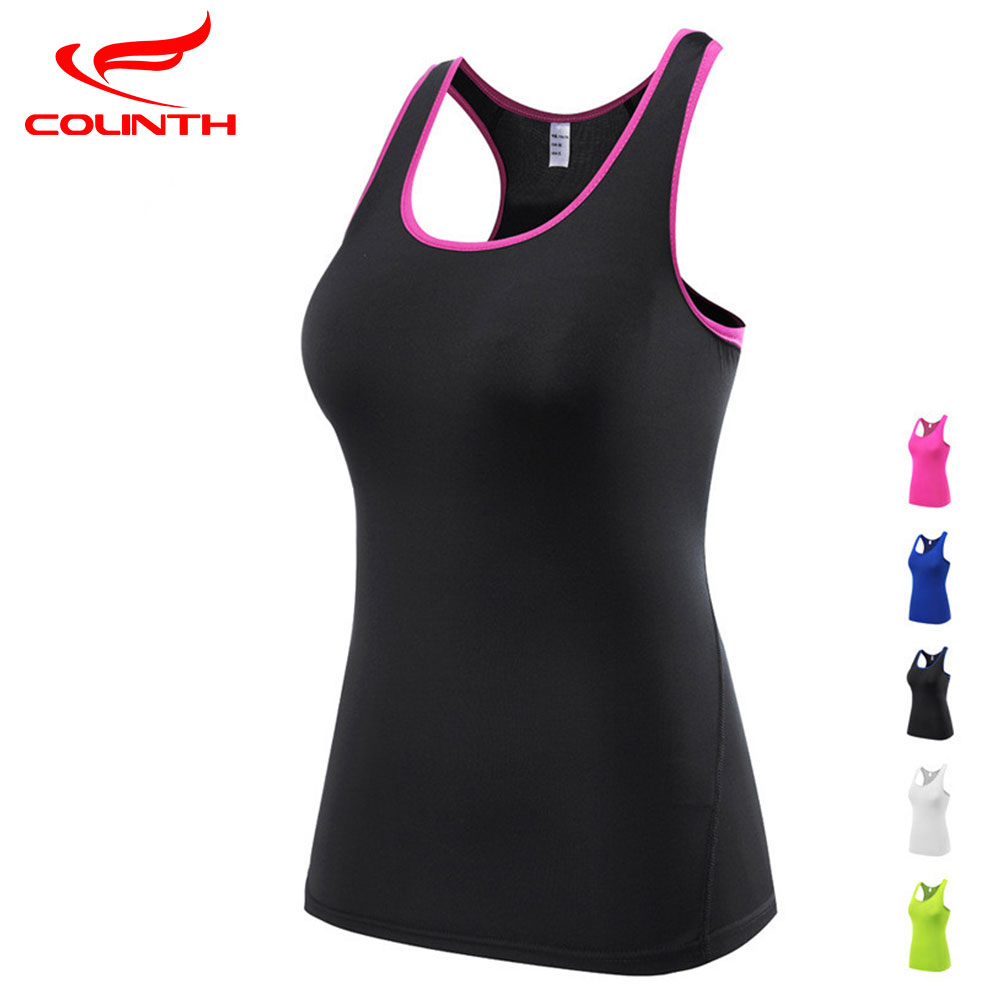 Women Professional Quick Dry Gym Shirt Sleeveless Yoga Tops Shirts Tights Sports Tees Vest for Running Fitness Dance Jogger Girl