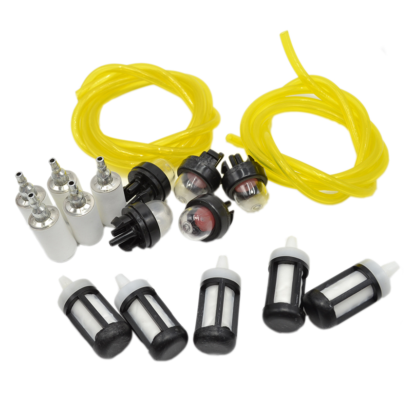 Fit for Chainsaw Carburetor Poulan Walbro Zama Snap In Primer Bulb Fuel Line