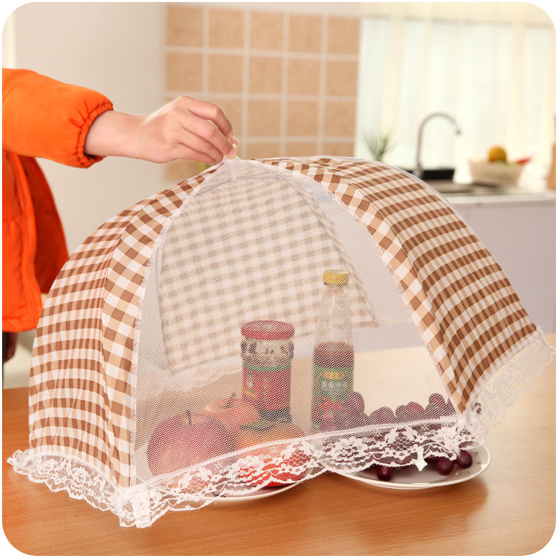 Gadget Food-Cover Kitchen Grid-Formed Easy-Pattern 1pc Hygiene-Keeping-Tool Folding title=