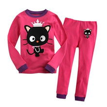 baby girl clothes Childrens pajamas set girls cartoon princess style home service fashion