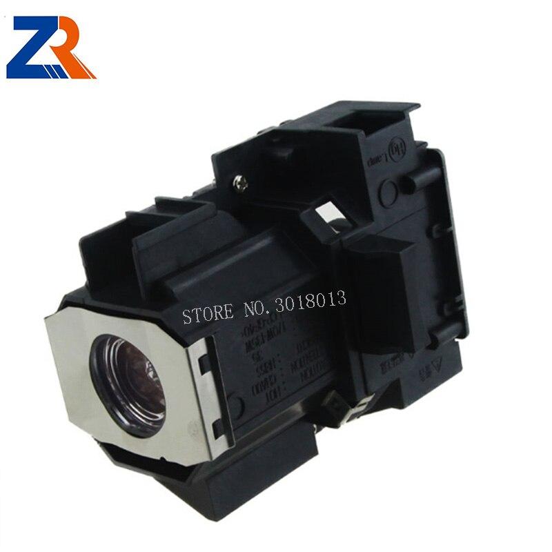 ZR Лидер продаж 100% Новый Совместимость лампы проектора с Корпус модель ELPLP34 для EMP 62C EMP 63 EMP 76c EMP 82C v13h010l34