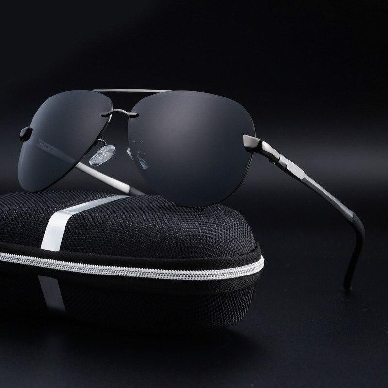 2019 Aluminium Aviator Sonnenbrille Männer Polarisierte Luxus Marke Designer Vintage Männlichen Sonne Gläser Für Fahren Oculos Masculino Feine Verarbeitung