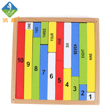 Baby Toy Montessori Numerical Rod Rods  Math Early Childhood Education Preschool Training Kids Toys Brinquedos Juguetes