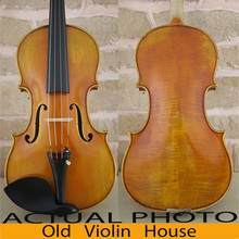 """Antonio Stradivari 171"""" Почва"""" модель скрипки, античная ручной работы лак, Бесплатный чехол для скрипки, лук и канифоль, № 2528"""