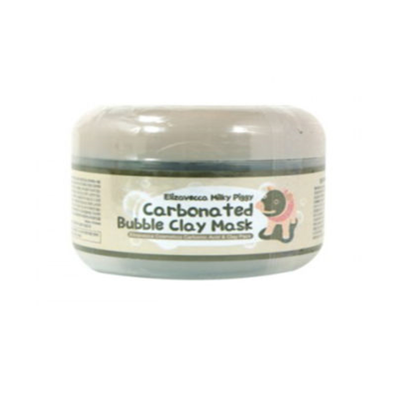 Elizavecca Carbonated Bubble Clay Mask 100ml Skin Care Face Mask Carbonic Acid Pore Cleansing Blackhead Removal Facial Mask маска matis clay mask balancing and purifying mask объем 50 мл
