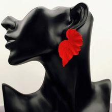Novo coreano brinco 2019 para as mulheres folha flor geométrica gota balançar brinco exagerado novo design brincos moda jewlery