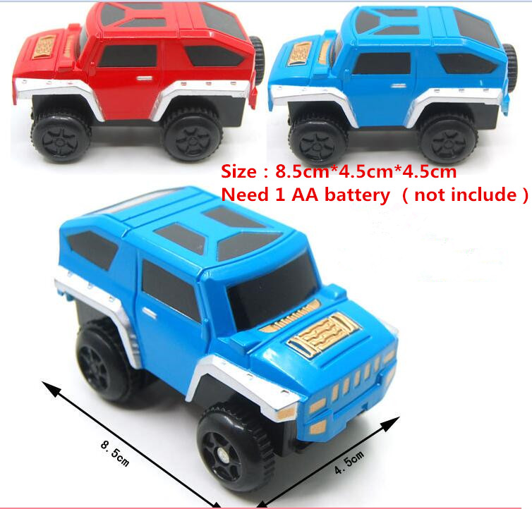 new Kids Toys alloy Electric Car toy for orbit track toy kids gift