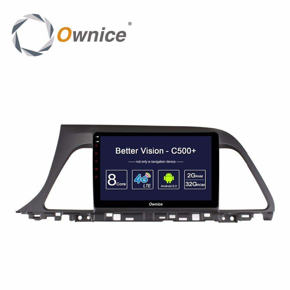 Android автомобиля аудио головное устройство Радио GPS навигации Развлечения Системы мультимедийный плеер для Hyundai Sonata 9 2015 2016 2017