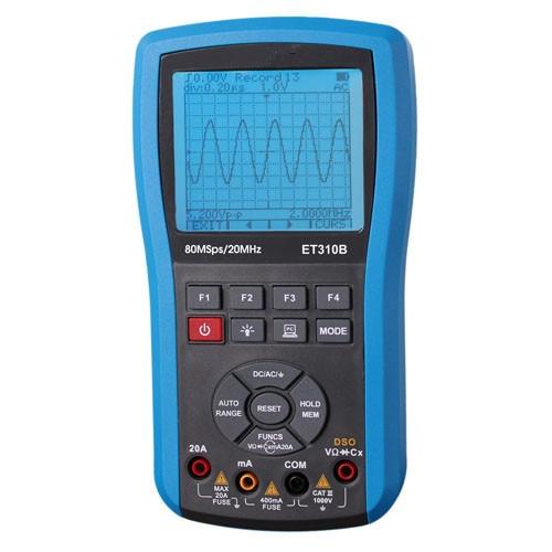 Flash Promo New Professional Digital Wireless Bluetooth Oscilloscope ET310B 20MHz Handheld True RMS High Precision Scope Meter Multimeter