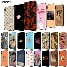 WEBBEDEPP Devil angel TPU Cover for Apple iPhone 6 6S 7 8 Plus 5 5S SE X XS MAX XR Soft Case