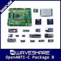 Pacote B STM32F407IGT6 Open407I-C Waveshare BRAÇO Cortex-M4 STM32 Development Board + 3.2