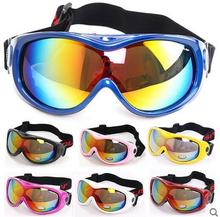 Polisi Children Kids Snowboard Ski Snow Goggles Uv400 Anti fog Lens Skiing Eyewear Winter Skate Snowmobile