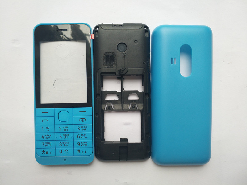 New Colorful Housing Case For <font><b>Nokia</b></font> <font><b>220</b></font> With English Keyboard image