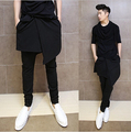 2018 Men's stylish flared leather pants.     29-36!! 23