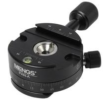 Алюминий 360 градусов панорамирование панорамный панорама зажим штатива Ballhead для Arca Камера Quick Release Plate штатив монопод