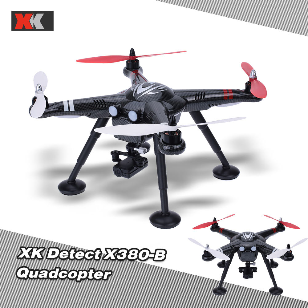 Original XK X380-B 2.4G GPS Gimbal Aerial Drone 1080P HD Sport Camera 6 Axis Gyro RC Quadcopter RTF with Headless mode xk rc drone dron 2 4ghz 4ch fpv headless mode rtf quadcopter with hd camera 1080p drones with gps brushless motor rc helicopter