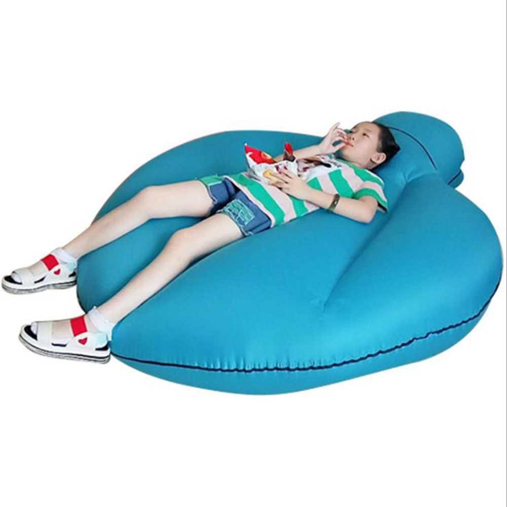 Оригинальный дизайн, лучшее качество, быстро надувной диван для отдыха, кемпинга, сна для детей, пляжный парк, Воздушная кровать, быстро складывающийся водонепроницаемый