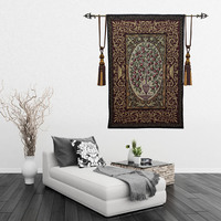 Indian Tapestry Mandala and Cherry Theme Farmhouse Home Decor Blanket Living Room Decoration Best Gift for New House